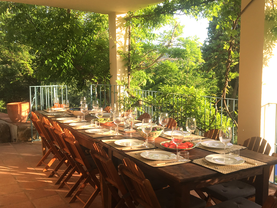 LA ALCANTARILLA - Covered dining terrace